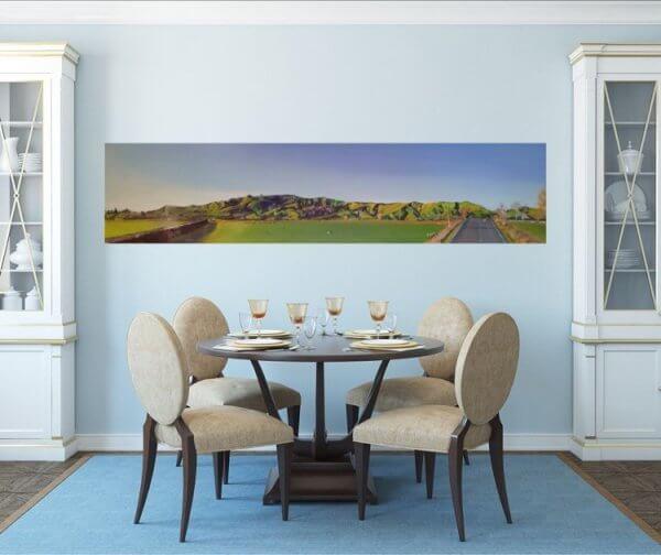Original acrylic painting of Roto o Rangi Hills by Artist Kirsten McIntosh of Kirsten McIntosh Art.