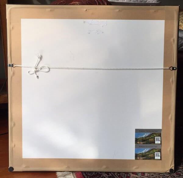 Limited Edition Framed Print of West Coast Surf by Artist Kirsten McIntosh of Kirsten McIntosh Art.