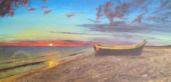 Original acrylic painting of Samui Lifestyle by Artist Kirsten McIntosh of Kirsten McIntosh Art.
