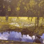 SOLD - Summer Reflections on Lake Te Koutu