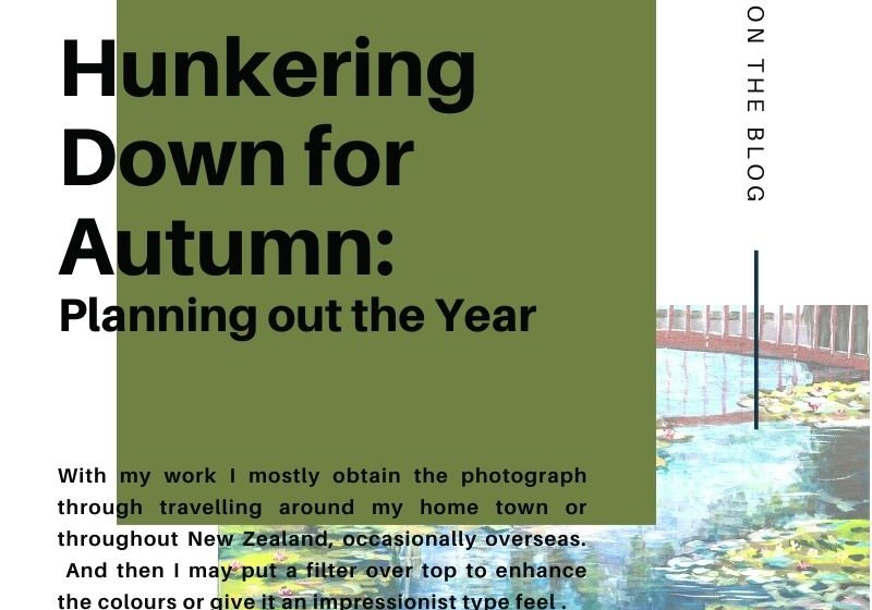 Blog post header for Hunkering Down for Autumn